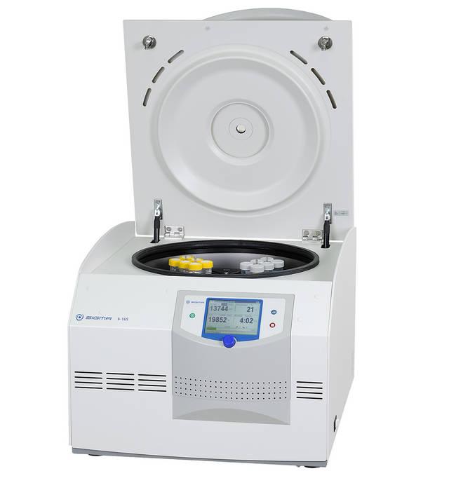 Máy ly tâm có gia nhiệt nóng Sigma 6-16HS